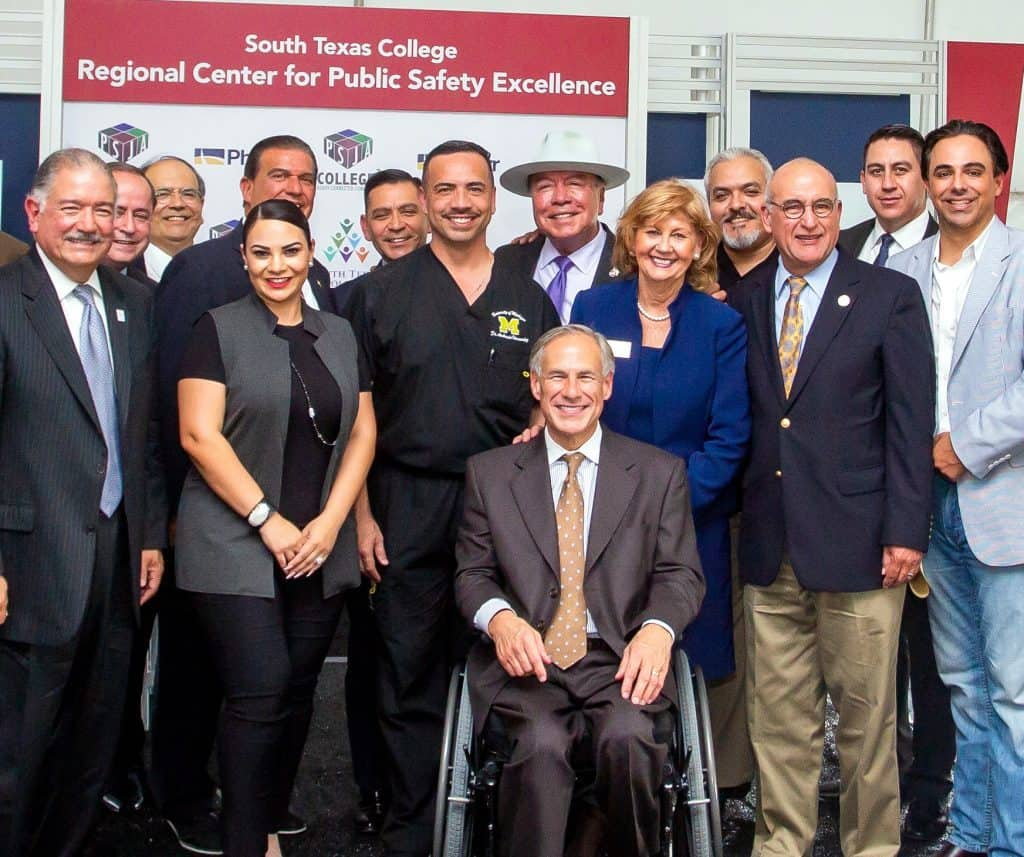 DHR Health leadership continues to bring major advances to South Texas, not only in medicine and health care, but also in education, as evidenced by roles of Pharr Mayor Ambrosio Hernández, MD