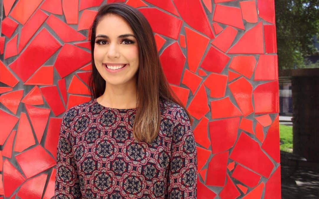 Mission native Alyssa Guajardo, a UTRGV junior, elected Texas Civic Ambassador for 2018-2019