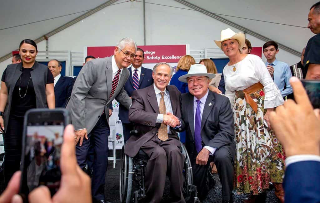 Gov. Abbott among powerful legislative voices in support of DHR Health's efforts to bring Level I Trauma Center(s) resources to deep South Texas - Titans of the Texas Legislature