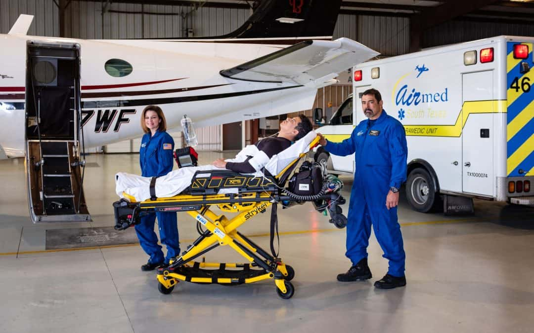 Hidalgo County EMS/South Texas Air Med providing superior life-saving resources and expert medical personnel for Rio Grande Valley