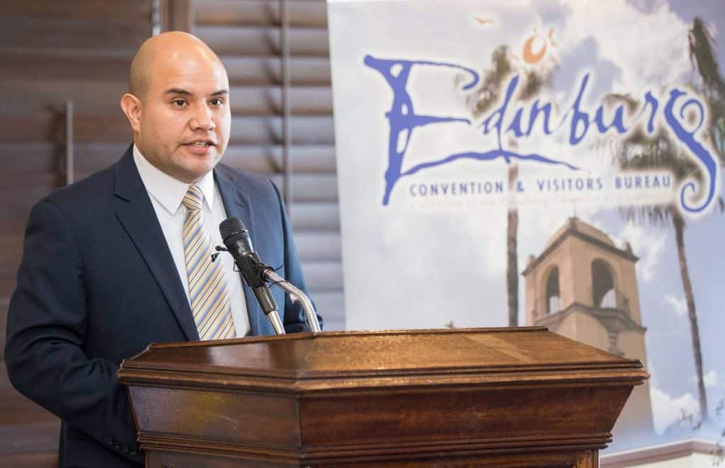 Political power in Austin and Washington, D.C., fair share of 0 billion in annual federal funds, to be focus of Rio Grande Valley's four county judges during February 7 Public Affairs Luncheon sponsored by Edinburg Chamber of Commerce