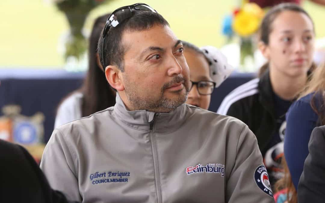 """Edinburg Councilmember Enríquez uses state public comment law to contend that he was """"removed"""" from Edinburg EDC Board of Directors"""