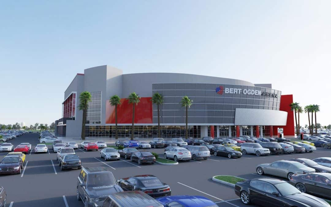 Bringing new businesses, helping existing businesses, creating more jobs next to Bert Ogden Arena and H-E-B Park are top goals of successful legislation by Rep. Canales and Sen. Hinojosa