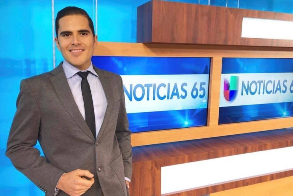 Genaro Tijerina, South Texas College alumnus, reaching the big time in U.S. broadcast journalism - Titans of the Texas Legislature