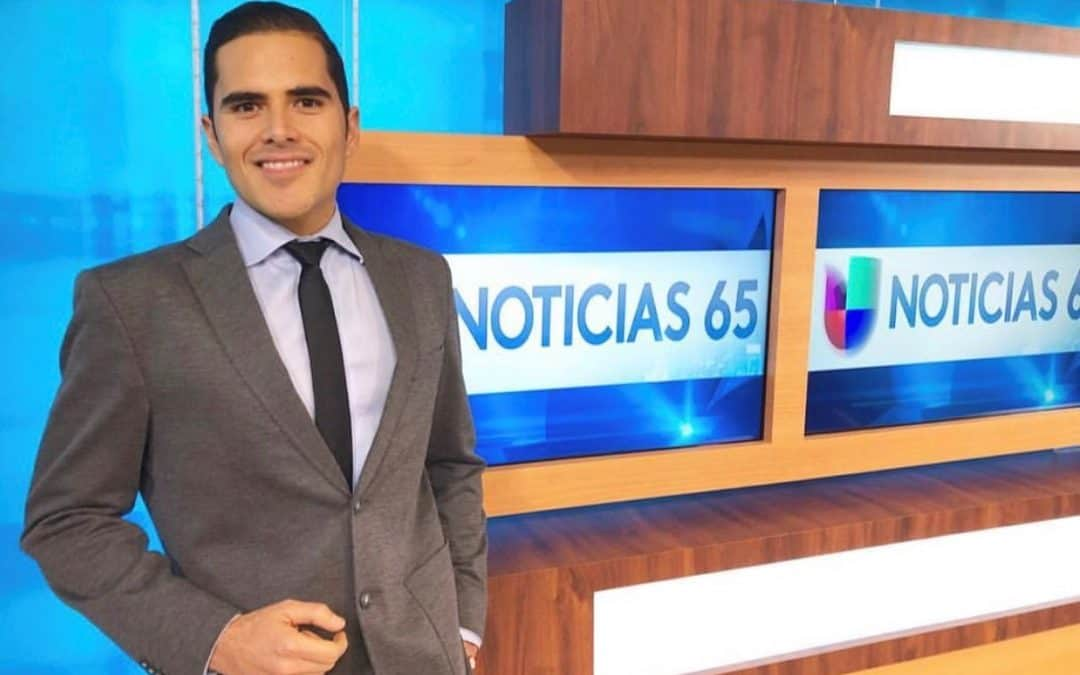 Genaro Tijerina, South Texas College alumnus, reaching the big time in U.S. broadcast journalism