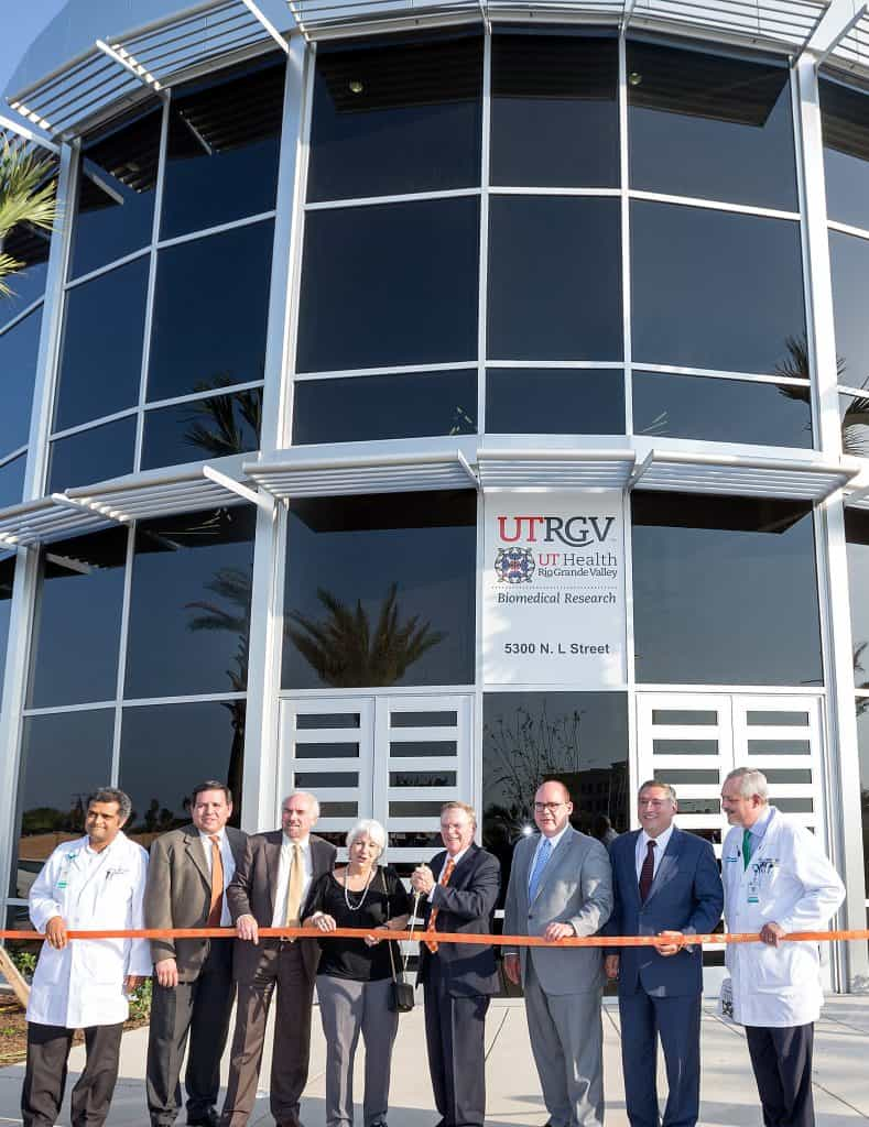 Thanks to area state and federal legislators, more than $1 billion flows into South Texas every two years through UT Rio Grande Valley and its School of Medicine, says UTRGV President Bailey - Titans of the Texas Legislature