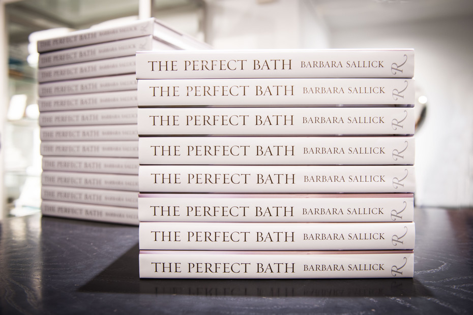 'The Perfect Bath' book launch