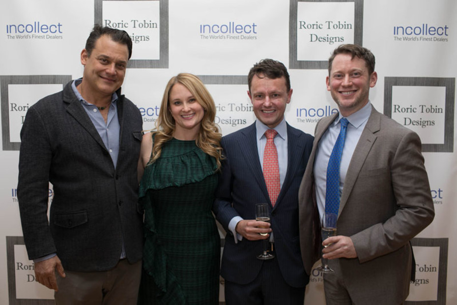 Launch party for Roric Tobin Designs