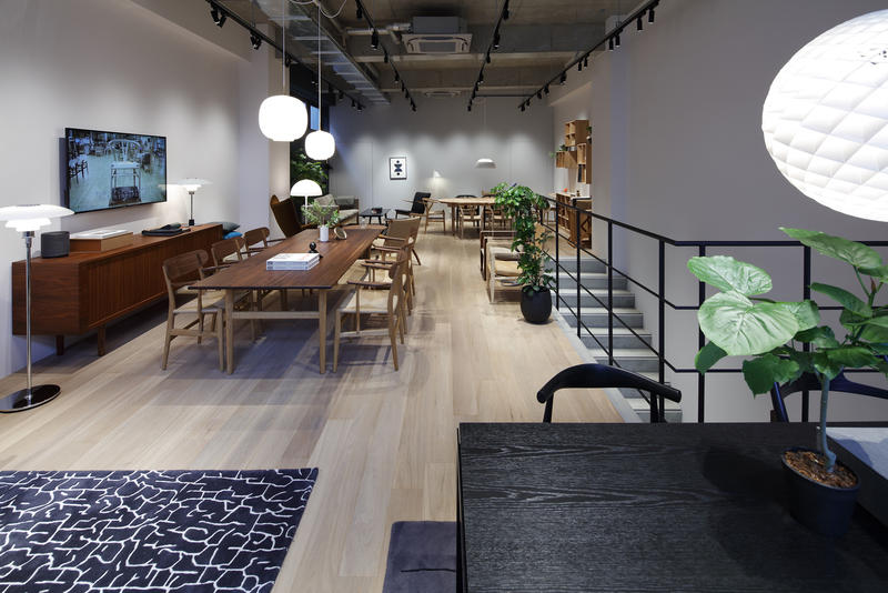 The new Osaka showroom; courtesy Carl Hansen and Son