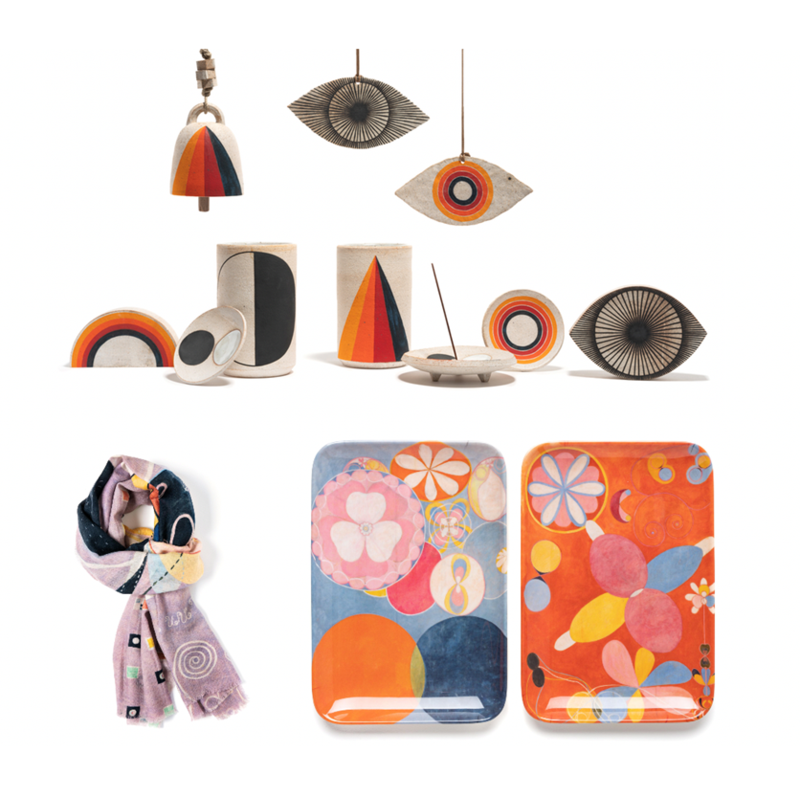 A female-driven collection at the Guggenheim Store takes its inspiration from the works of Hilma af Klint.