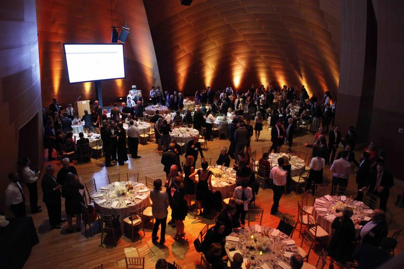 A DLS dinner at the Disney Concert Hall, in 2015; courtesy DLN