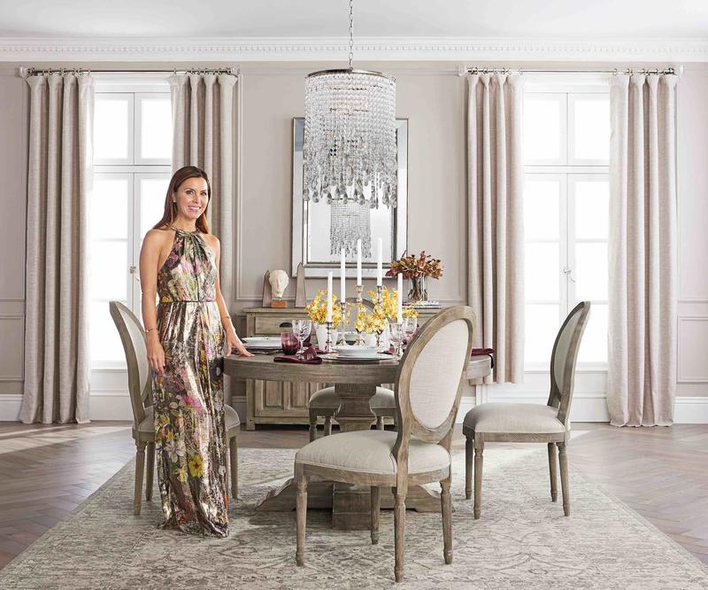 Monique Lhuillier for Pottery Barn; courtesy of Pottery Barn