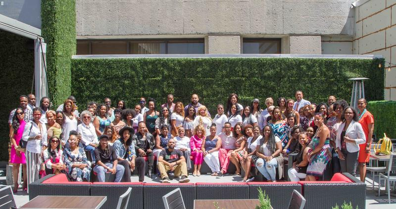 The conference attendees. Photo courtesy Orlando Whigham Photography.