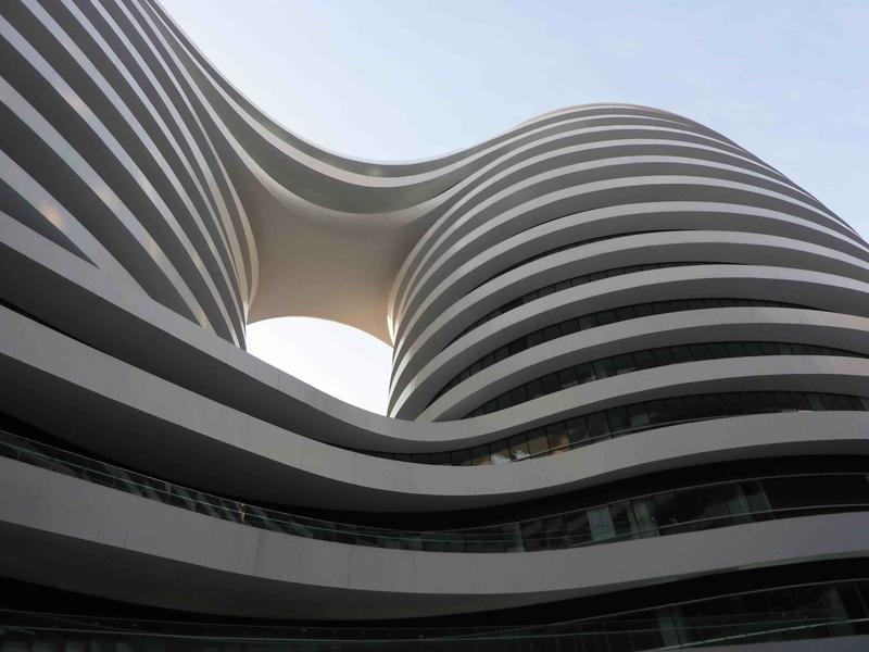 Galaxy Soho, in Beijing, by Architizer honoree Zaha Hadid Architects; photo by Bjarke Liboriussen