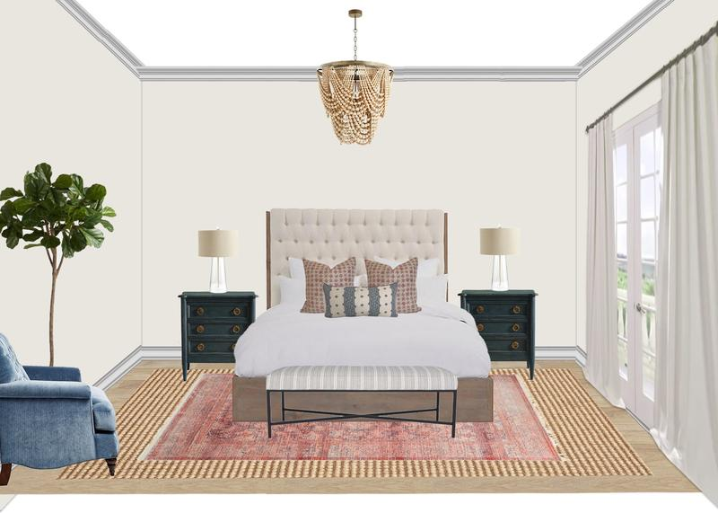 A digital rendering created for a Design Services project. Image courtesy Wayfair.