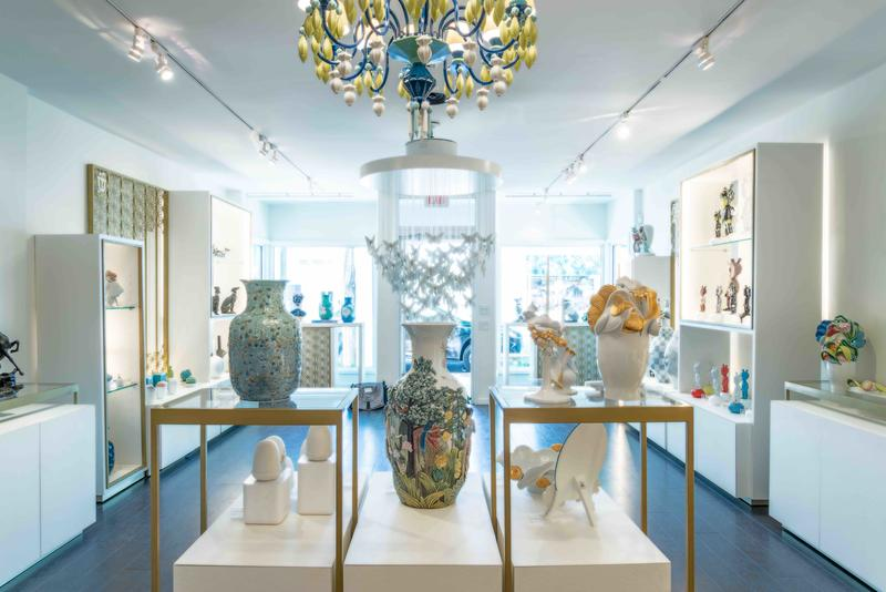 Lladro's pop-up in the Hamptons; courtesy TK