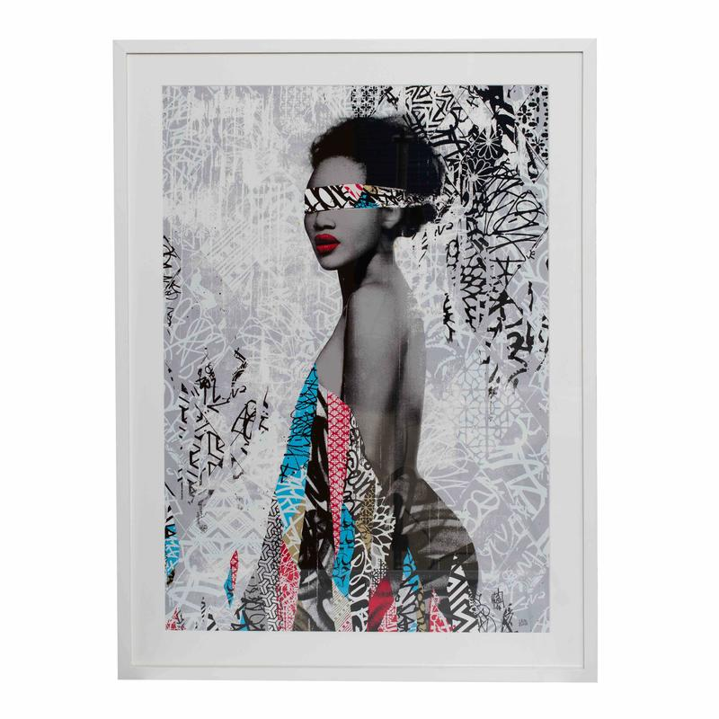 """Nubian Princess"" print by Hush available on Collectors Concessions."