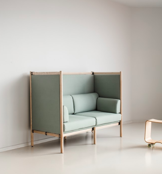 The Dan Highback by Bulo Furniture; courtesy Bulo Furniture