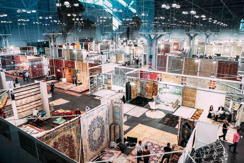 Last year's NY Rug Show. Courtesy The Rug Show.
