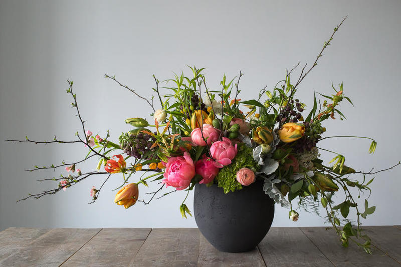 Winston Flowers recently opened its second design studio in Queens, New York. Photo courtesy of Winston Flowers.