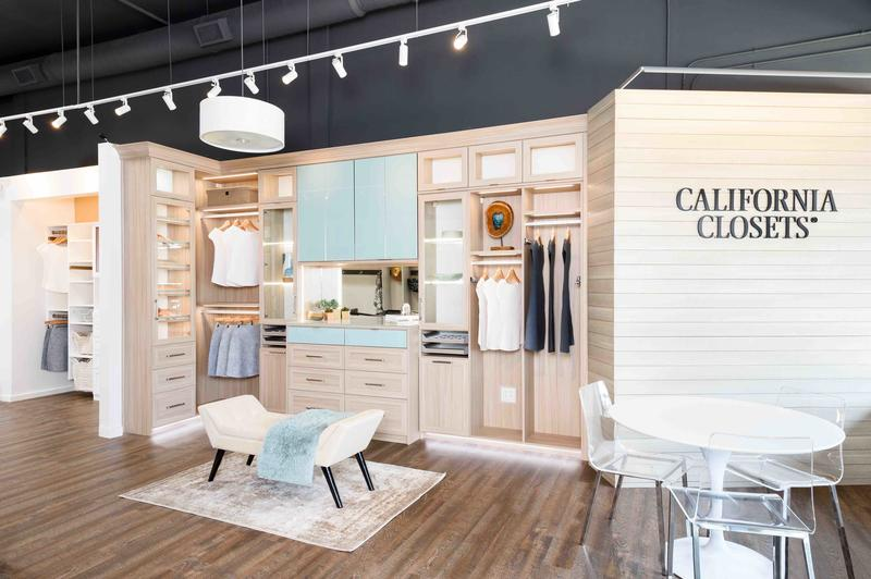 California Closets' Santa Monica showroom. Photo courtesy Flashpoint Collective.