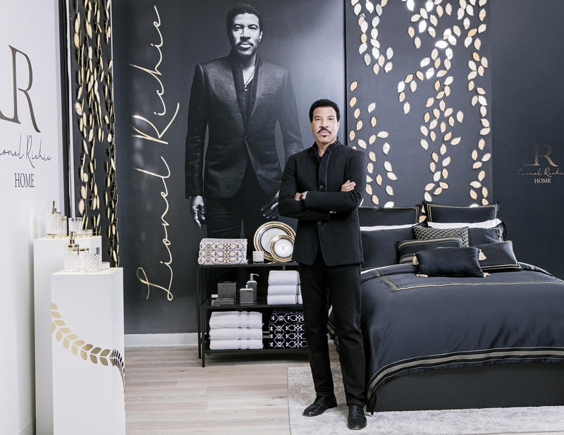 Lionel Richie home launch; courtesy JC Penney