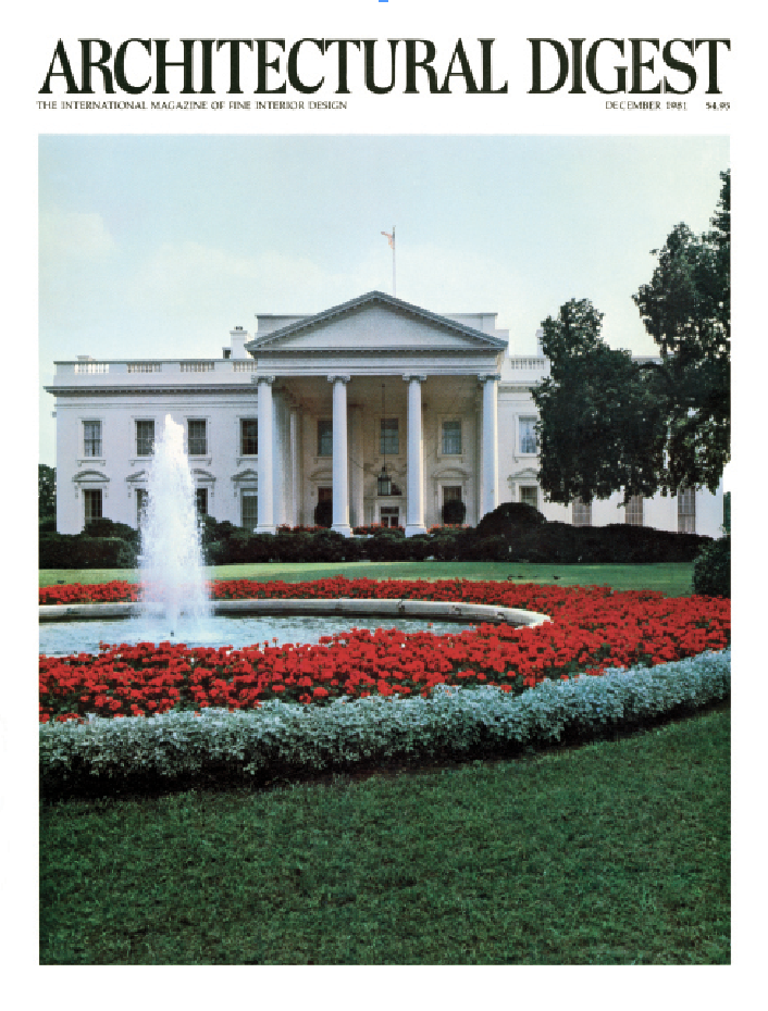 The White House on the cover of AD.