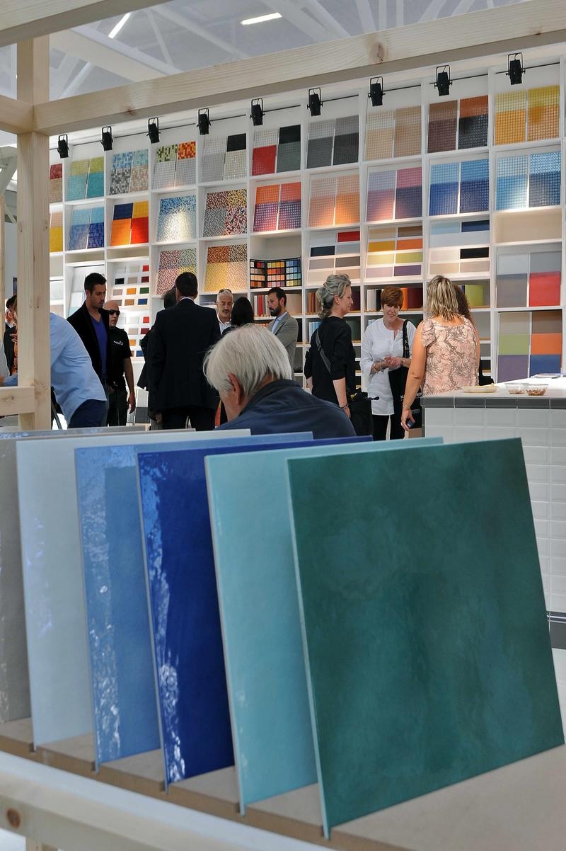 Inside the show; courtesy Cersaie
