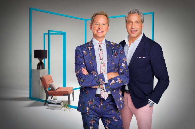 Thom Filicia and Carson Kressley