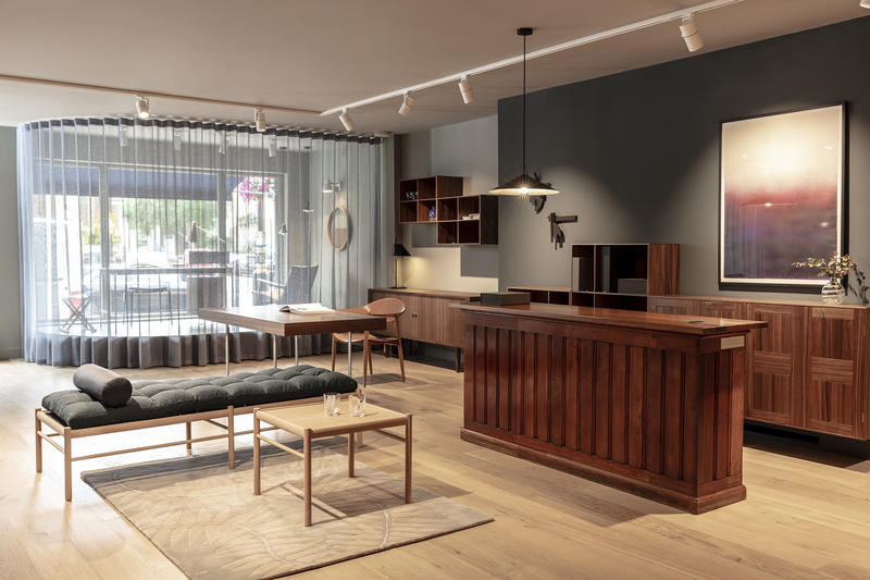 Carl Hansen and Son's new flagship in London.