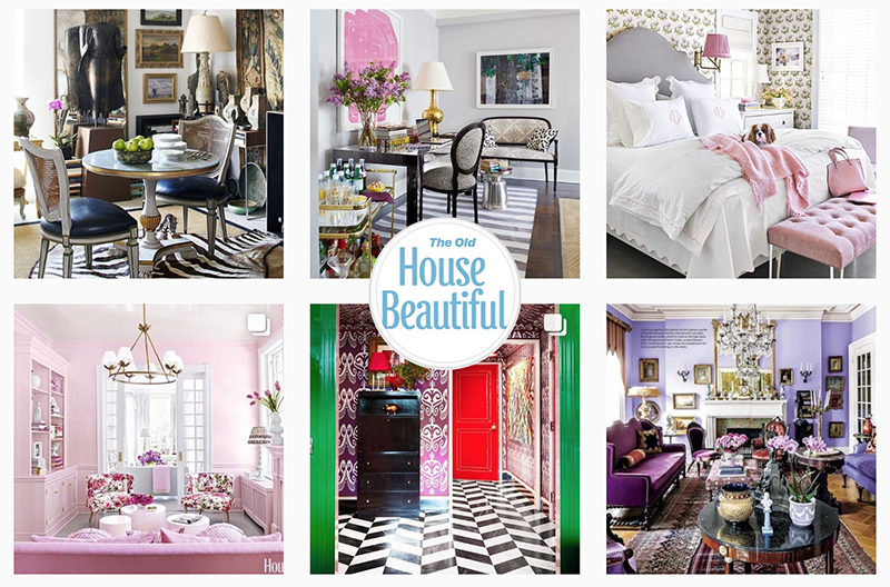 New IG account @TheOldHouseBeautiful goes viral
