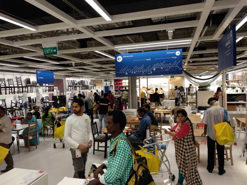 Ikea's Hyderabad location