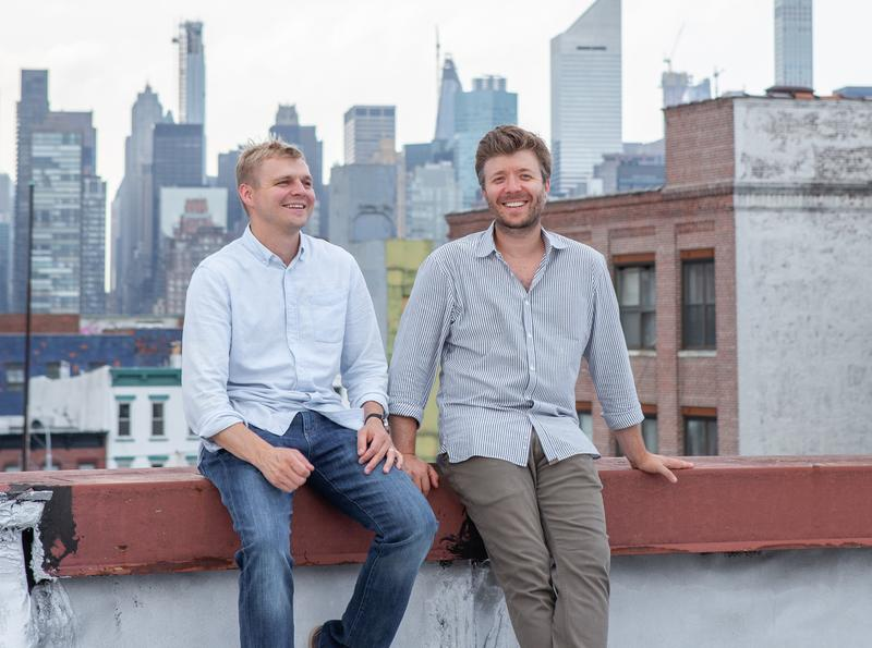 Stickbulb co-founders Russell Greenberg and Christopher Beardsley