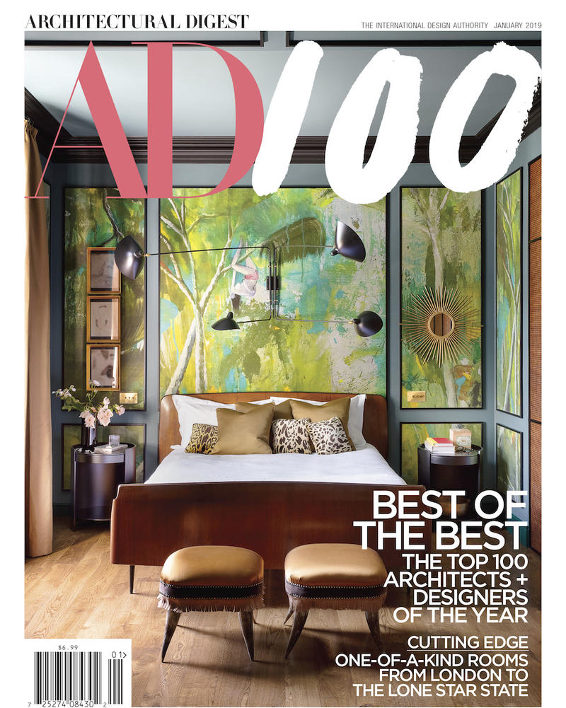 Architectural Digest January 2019