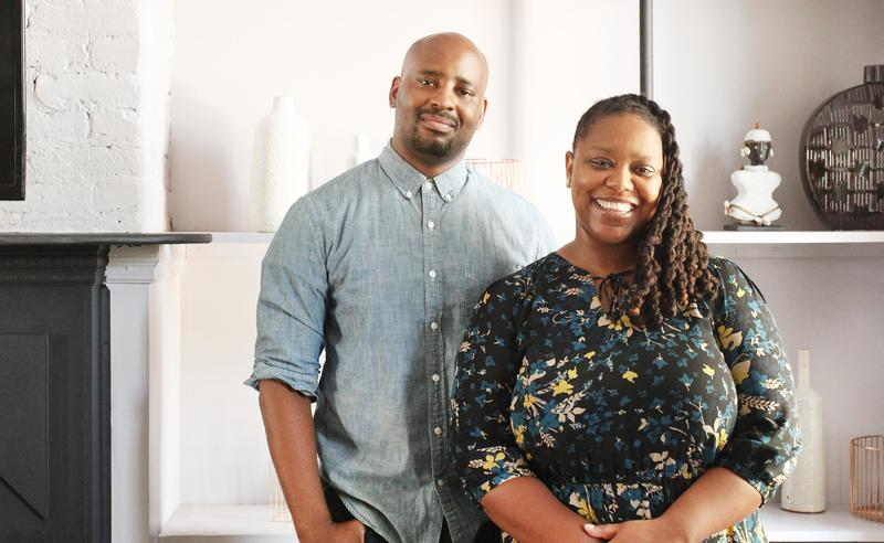 Jeanine Hays and Bryan Mason of AphroChic