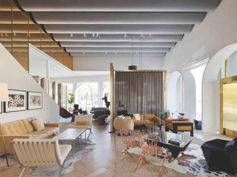 Knoll in Los Angeles, designed by Barbara Reimelt