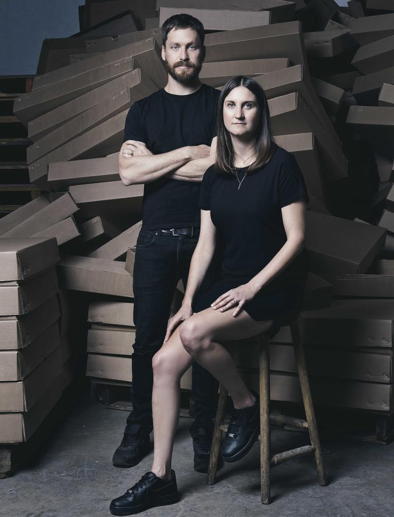Product design firm Dokter and Misses, composed of designers Adriaan Hugo and Katy Taplin