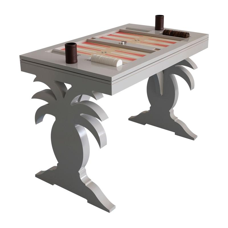 The Harbour Island backgammon table