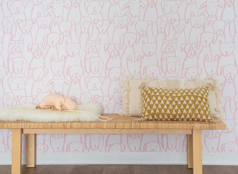 One of Chasing Paper's new wallpaper patterns by Jen Peters