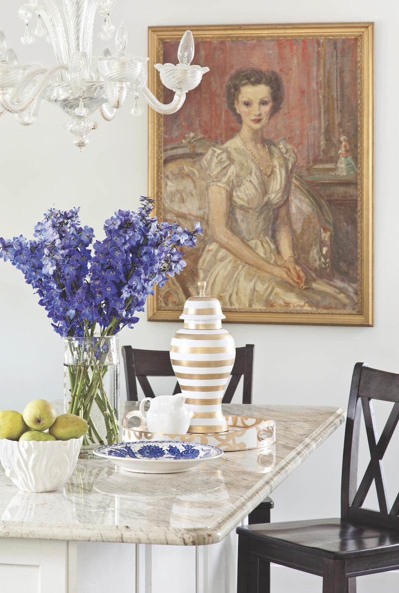 Home accessories designer Dana Gibson.