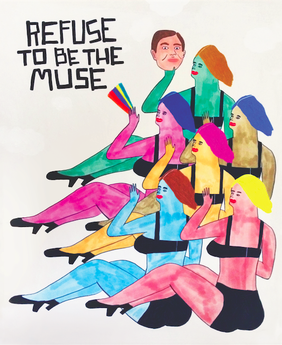 Refuse to be the Muse