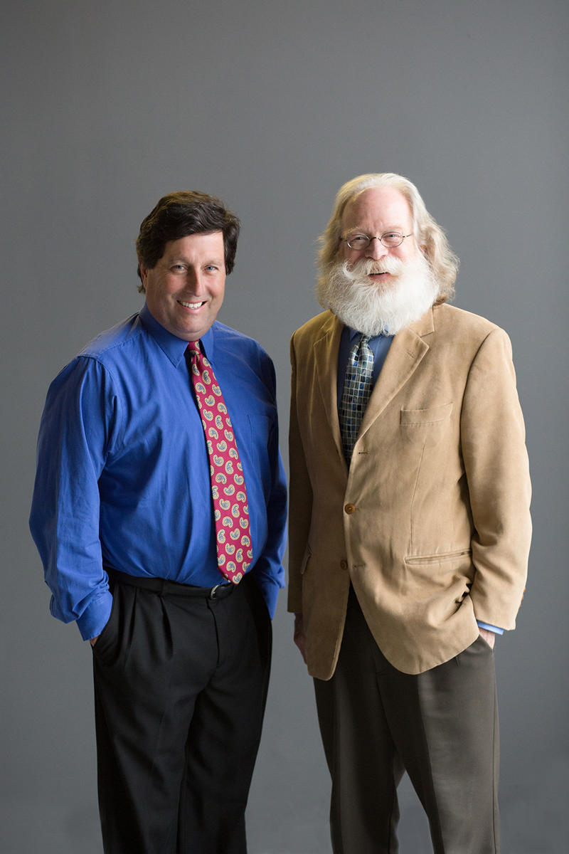 Erik Listou and Louie Delaware, founders of the Living in Place Institute.