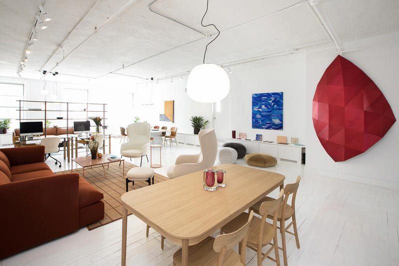 Co-founder Alexandra Polier also uses the space as an office for her PR firm, DNA Strategic Consulting.