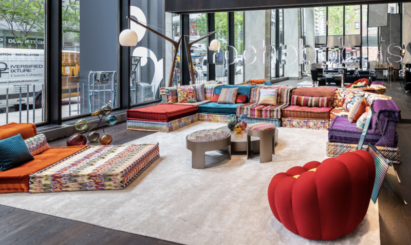 Roche Bobois's new New York showroom