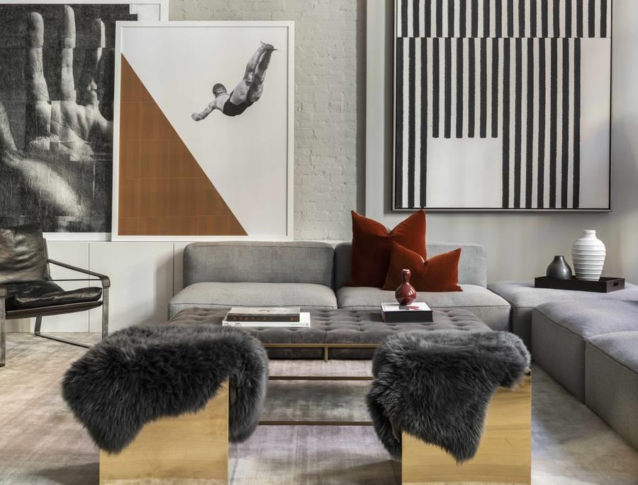 10 Greene Street: nominated for NYC x Design Awards top model apartment design.