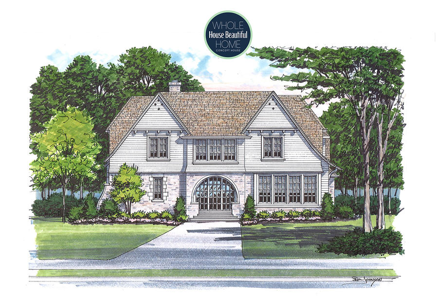 Whole Home Project Rendering