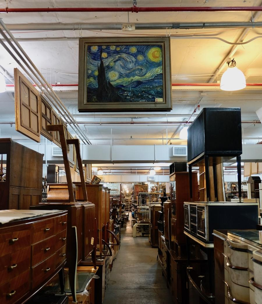How do you grow an antiques business when no one is buying antiques?