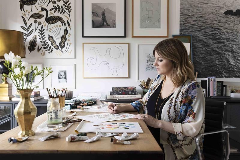 Anna Bond, co-founder of Rifle Paper Co.