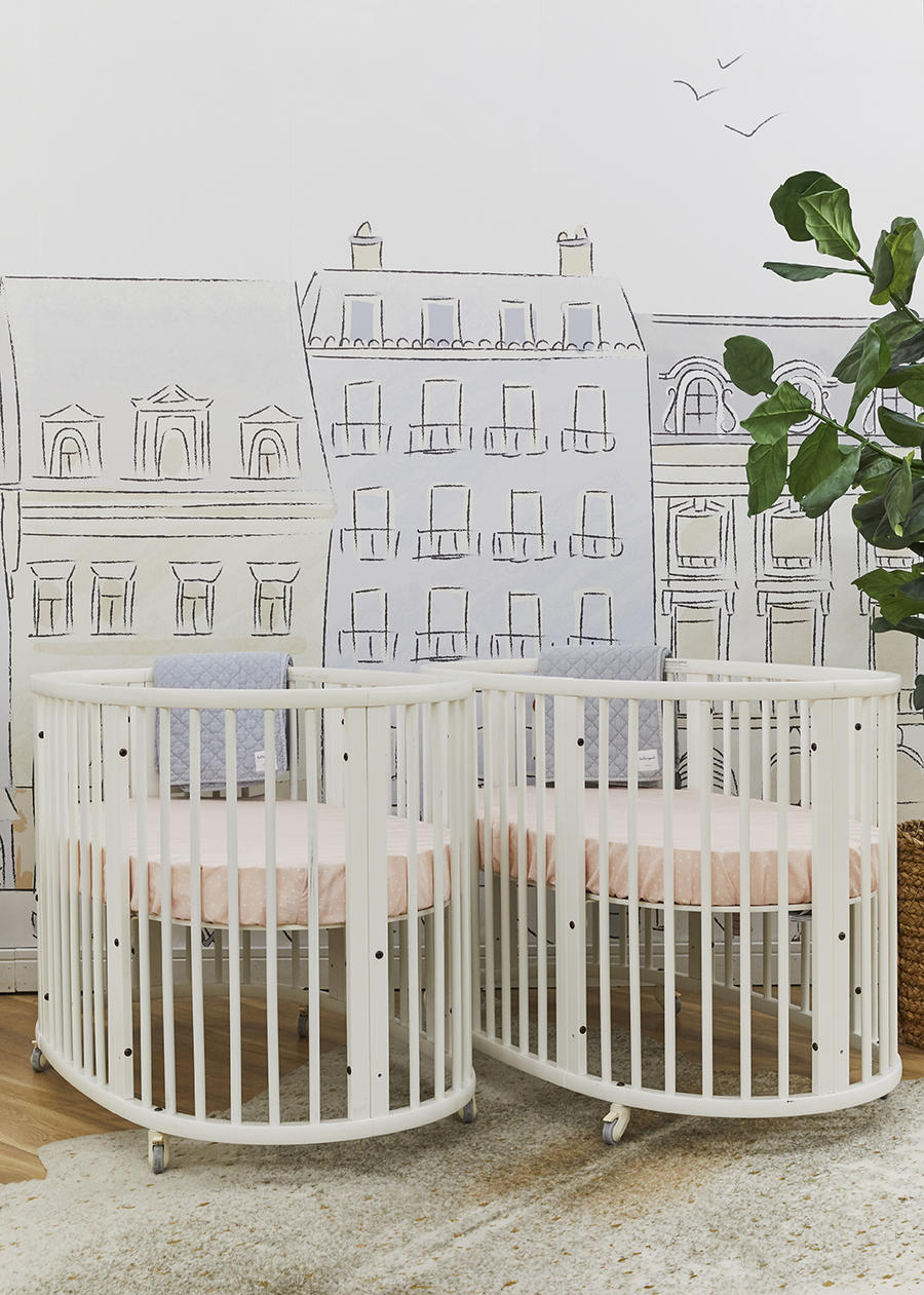 One of the Decorist-designed vignettes at the BuyBuyBaby store in New York.