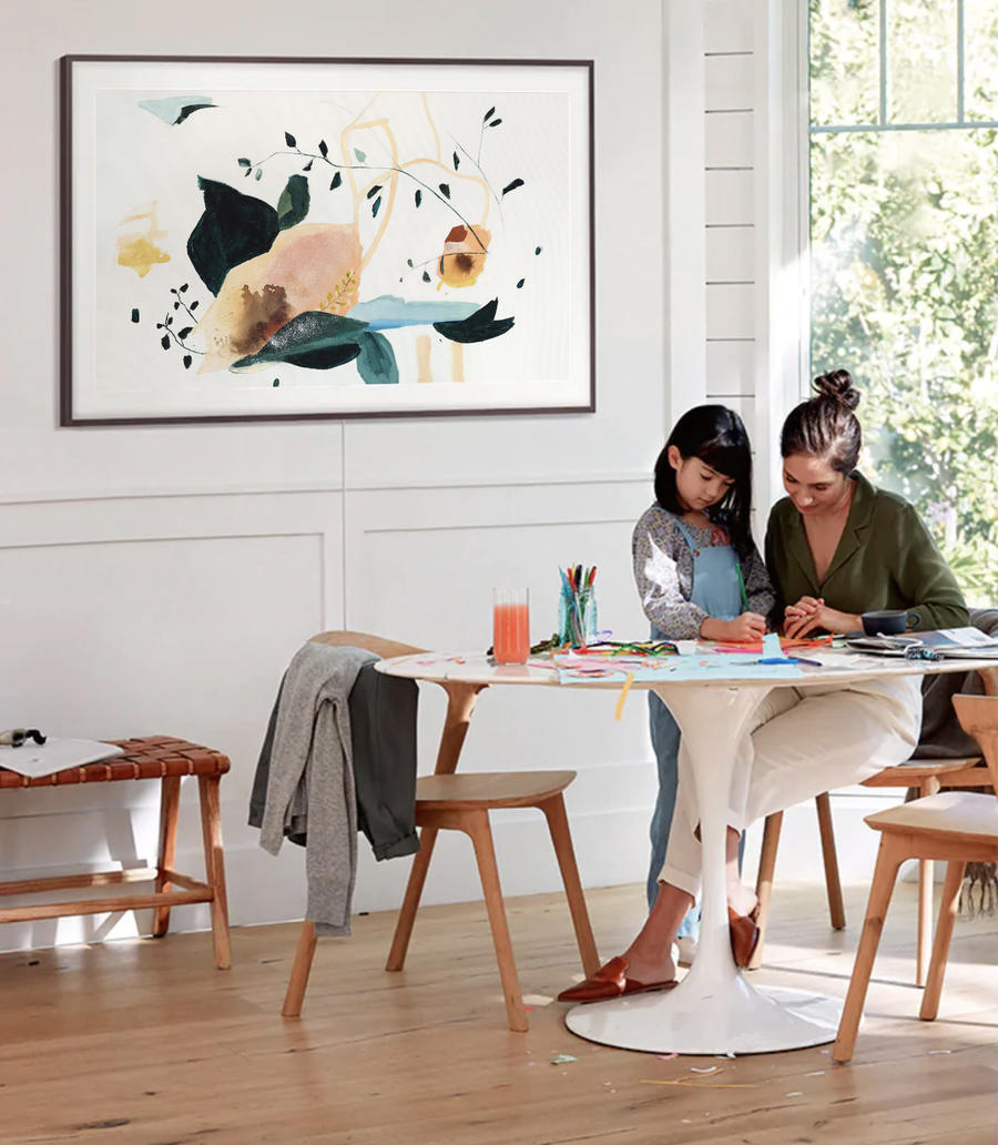 Samsung's 2019 Frame TV now has digital fine art from Minted's assortment